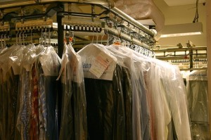 Dry cleaners often use hazardous chemicals. Photo: Simon Law.
